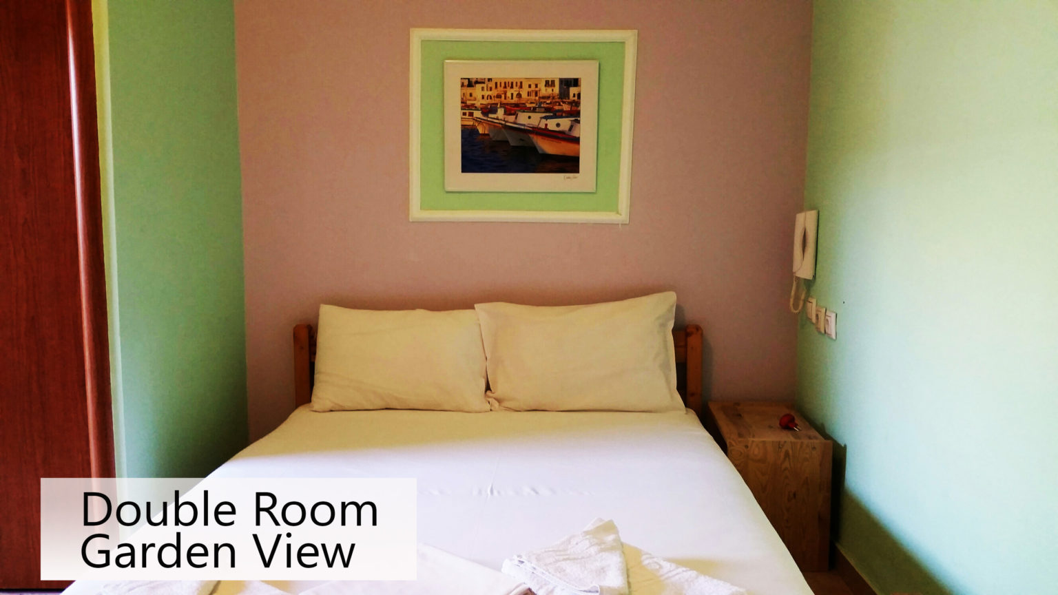 double rooms to let garden view