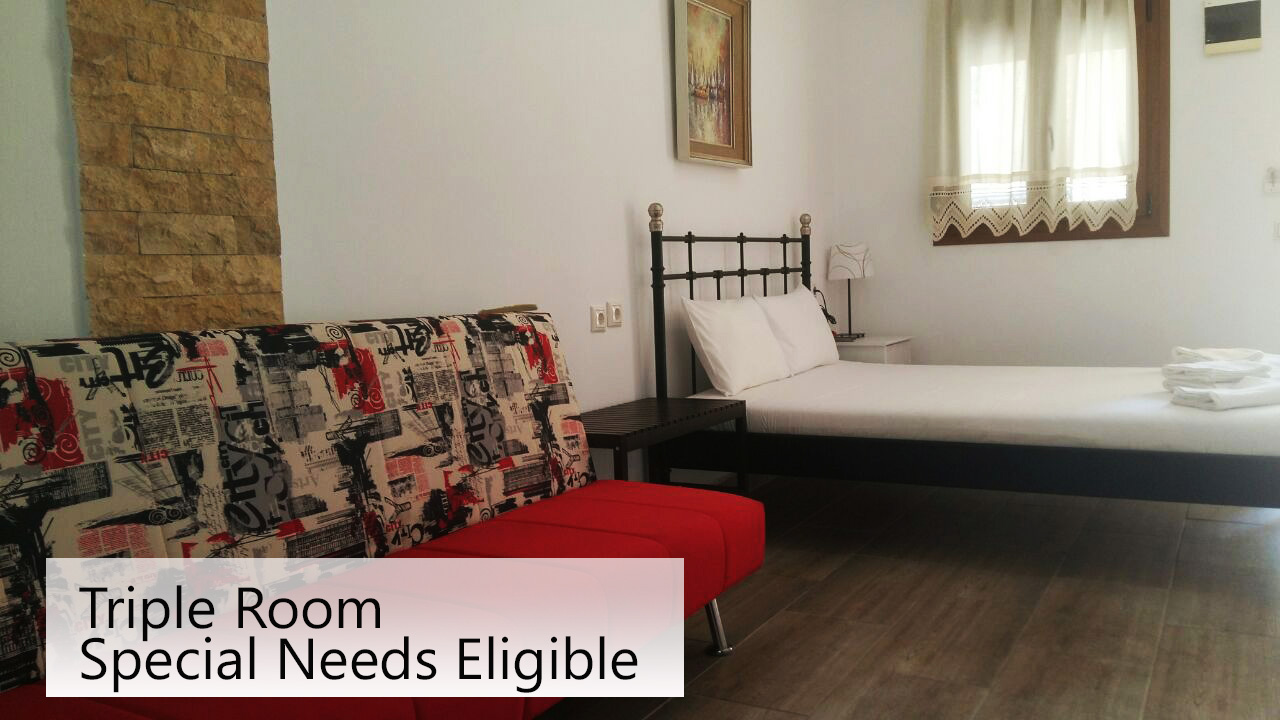 triple rooms to let